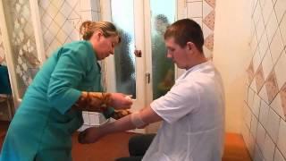 В операционной отделения переливания крови ЖЦРБ (видео