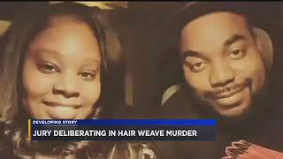 19-year-old woman accused of killing three people over hair weave.