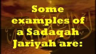 Ongoing charity (Sadaqah Jariyah)