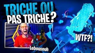 Bon... Pour vous Lebouseuh a triché ou pas sur ce Cache-Cache Fortnite Créatif ?