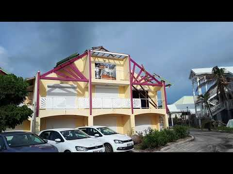 orient baie 2 month after hurricane Irma st martin