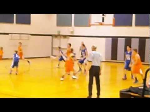 Logan - Emmett Middle School 8th Grade BB Team - 2/27/2013