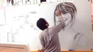 Baixar Jessica Veranda ( @veJKT48 ) Marker Drawing by @nooraditama