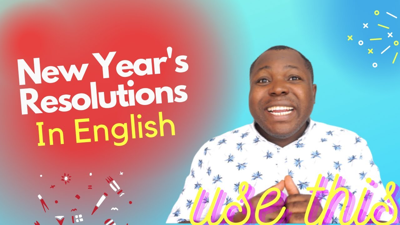 English Phrases For New Year's Resolutions | Useful English Expressions | To Start Your New Year.