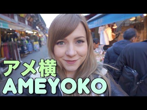 AMEYOKO Shopping Street in Tokyo! | Sharla's Life