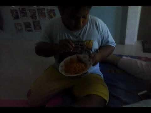 Makan Mie Ayam Geprek Pedes Seprti Tanboy Kun Part 2()(
