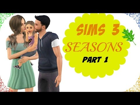 Let's Play : The Sims 3 Seasons - Part 1 : Create A Sim |