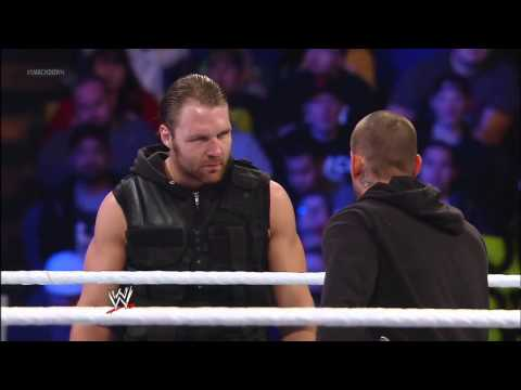 WWE Smackdown 1/25/13 - CM Punk Calls Out The Shield And The Rock