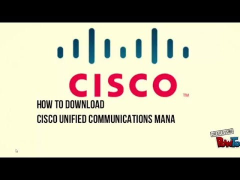 How to download Cisco CUCM |Cisco unified communications manager