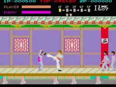 Kung Fu Master Arcade Full BGM Music BSO OST