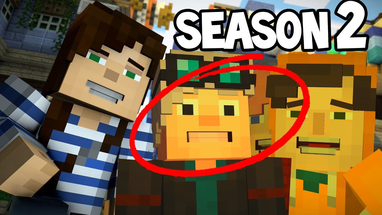 Minecraft Story Mode Season 2 New Youtubers Youtube