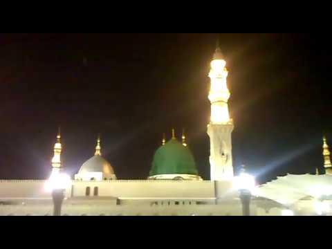 Live MADINA SHARIF KI AZAN MUBARAK MUHAMMAD MUSTANSAR ZAMAN QADRI