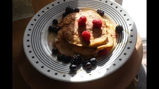 How To Make  Easy Cottage  Cheese Pancakes