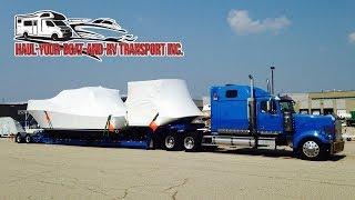 Boat Transport Quote - RV Boat Transport Quote