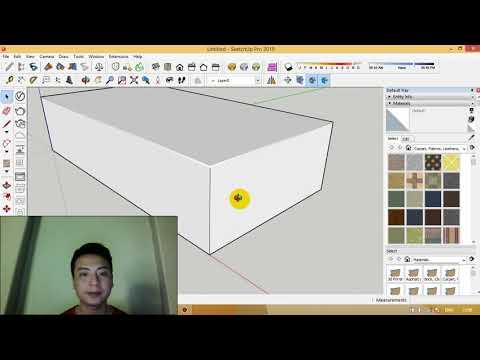 Cách Tạo Góc Bo Vật Liệu Trong Phần Mềm Sketchup Bằng Công Cụ RoundCorner