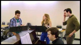"Old Friend - ""Merrily We Roll Along"" Stars Lin-Manuel Miranda, Colin Donnell & Celia Keenan-Bolger"