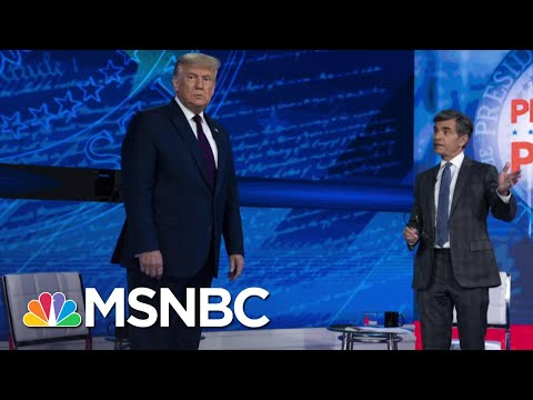 Trump Struggles With Tough Questions From Voters At Town Hall | The 11th Hour | MSNBC