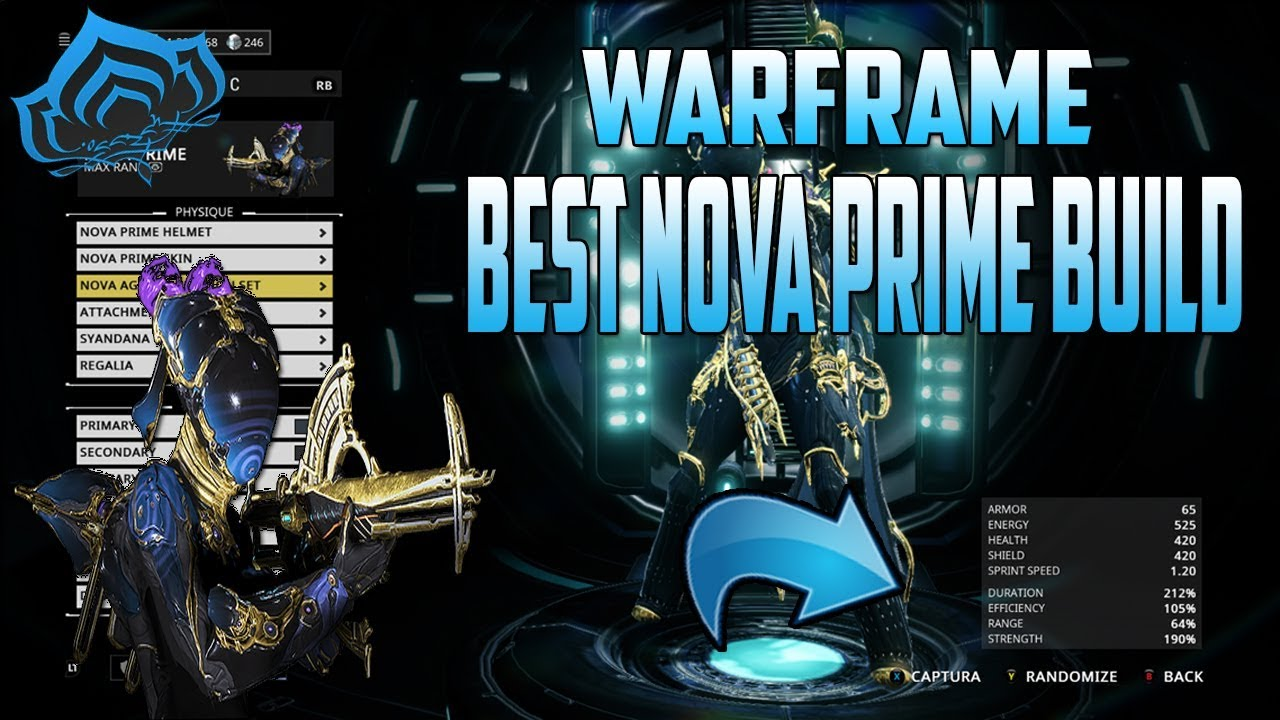 Warframe Nova Prime Build Insane Damage Youtube She can kill anything she sees and all her skills are useful on their own. warframe nova prime build insane damage