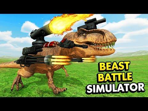 ULTIMATE EPIC BATTLE SIMULATOR WITH BEASTS! (Beast Battle Simulator / BBS Funny Gameplay)