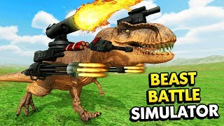 ULTIMATE EPIC BATTLE SIMULATOR WITH BEASTS! (Beast Battle Simulator / BBS Funny Gameplay)