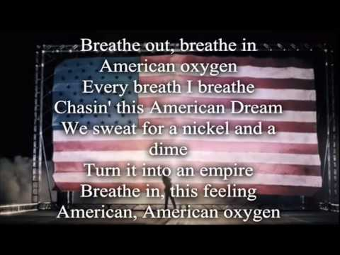 Rihanna -  American Oxygen Acoustic Version (Lyrics Video) Letra