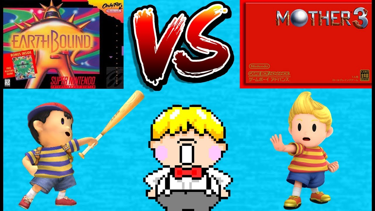 Mother 3 Vs Earthbound Snes Classic Edition Game Boy Advance