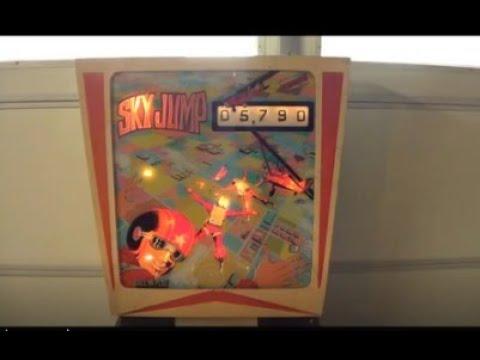 Sky Jump Pinball Machine By Gottlieb Youtube