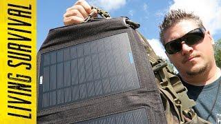 Maximum Power: Anker 14W Solar Panel & Astro E7 Battery Bank