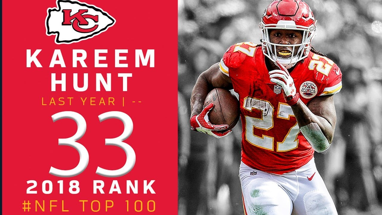 #33: Kareem Hunt (RB, Chiefs) | Top 100 Players of 2018 | NFL