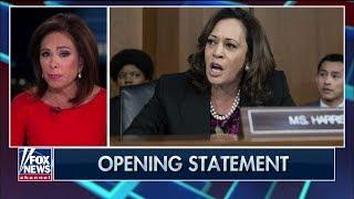 Judge Jeanine: Sen. Kamala Harris' Comparison of ICE to KKK Is 'Pure Insanity' thumbnail