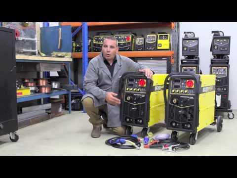 Bossweld POWERPRO 250 & POWERPRO 350 - MIG/MMA/TIG Welding Machines