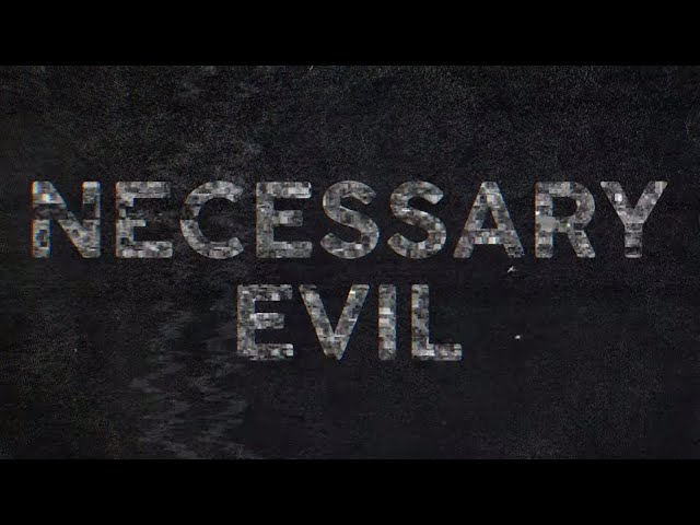 Justice Carradine - Necessary Evil (Lyric Video)