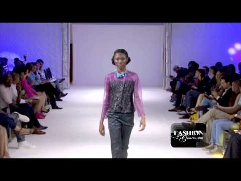 [HD] Ajepomaa Design Gallery @ Ghana Fashion & Design Week 2013 / Day 1 - Ready To Wear