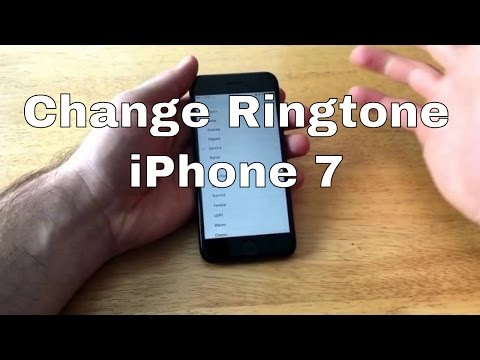 How to use your own ringtone iphone 7