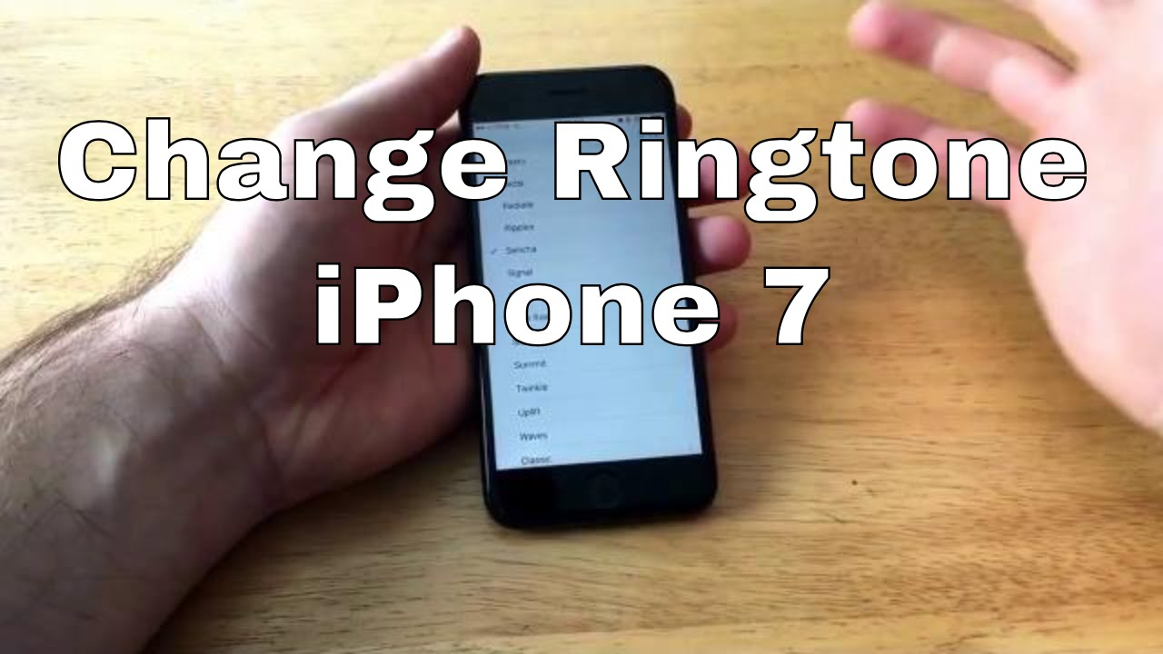 how to change iphone ringtone how to change ringtone iphone 7 7 2295