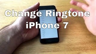 How to change the ringtone on an iphone 7. helpful 7/7+ tutorials: subscribe: https://www./user/sc00tinal00ng?sub_confirmation=1 instagram:...