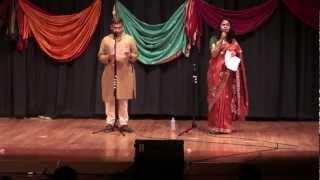 Bangla Gaan: Rashmi and Samik Raychaudhuri - Saraswati Puja 2013