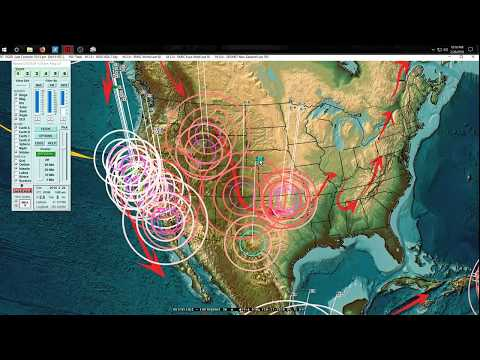 2/26/2018 -- New M6.1 Earthquake in West Pacific - Pressure spreads over 1,000 miles in 1 day