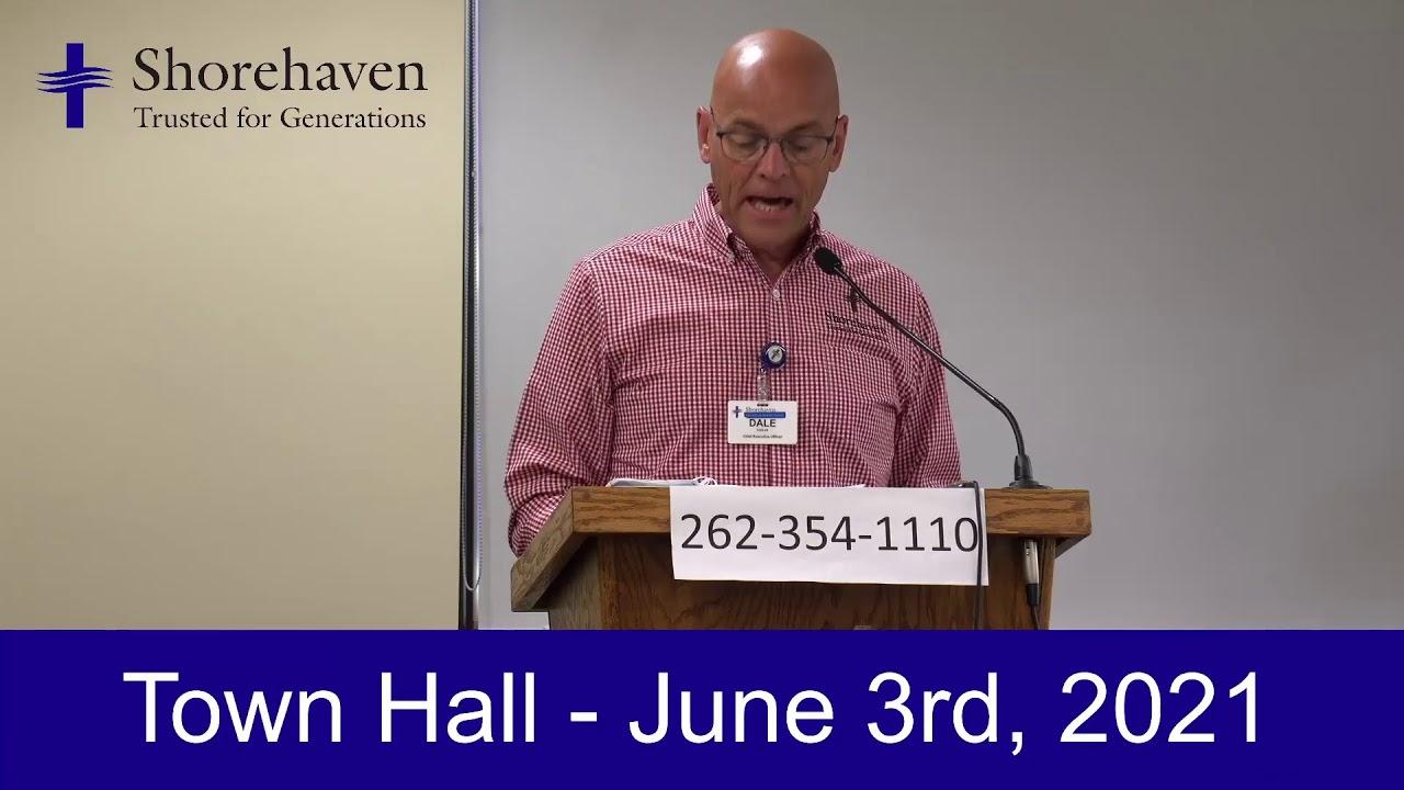 Town Hall 6-3-21