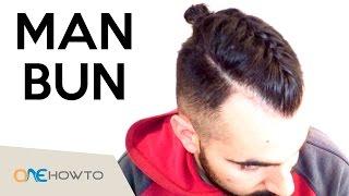 Easy Man Bun Braid tutorial
