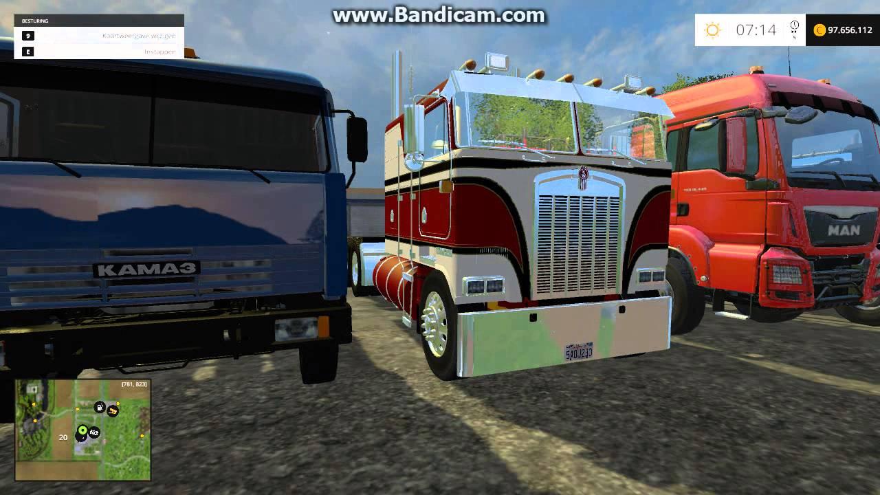 Farming Simulator 2015 - fs15 All working truck mods