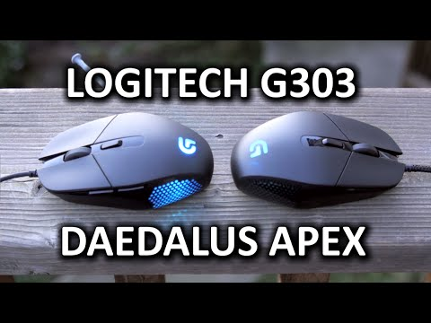 Logitech G303 Daedalus Apex Optical Gaming Mouse