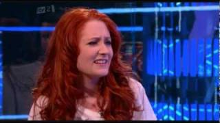 Janet Devlin interview on Xtra Factor after being eliminated from X Factor.