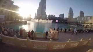 Dubai Dancing Fountain Day & Night