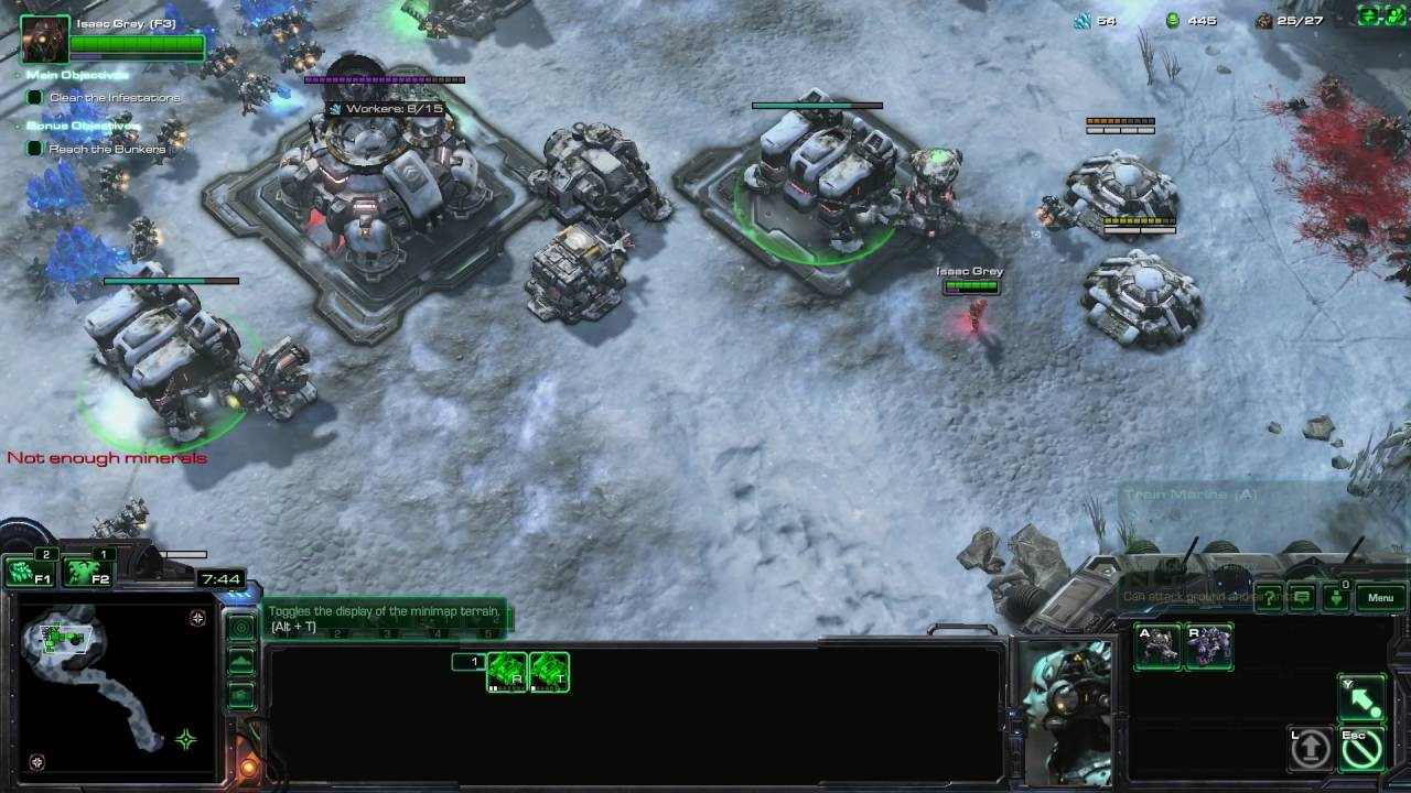 StarCraft 2: Infestation (Terran Mission) (Abandoned Campaign)