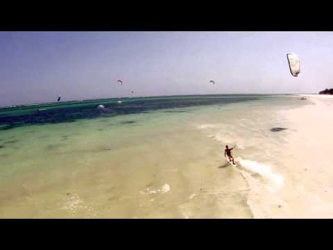 Kitesurfing in Kenya; Flying High with H2o Extreme in Diani Beach