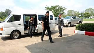 มณฑลทหารบกที่ 27 ให้การต้อนรับ พ.อ.ชูชีพ ชัยศรี หัวหน้าคณะกรรมการตรวจกิจการทั่วไป ประจำปี 2561