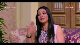 السفيرة عزيزة - مايا نصري : أنا كلبنانية ليس من حقي إعطاء الجنسية لأولادي .. وأولادي جنسيتهم مصرية