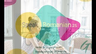 🍃Learn Romanian Lesson 25 : Animals vocabulary + Present Tense Examples🐒