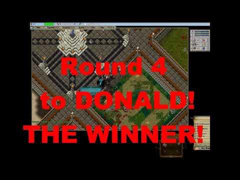 UO: Outlands Donald Trump Vs Veton 100k Duel! (Short Version)